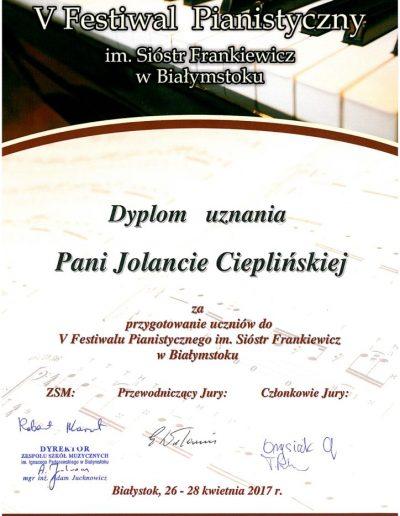 2017 04 26 Jola-Cieplińska-dyplom-uznania-724x1024