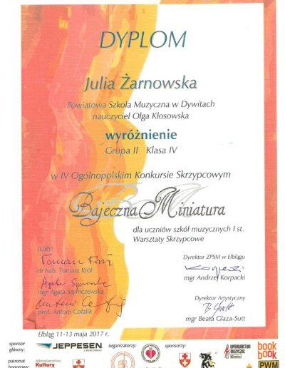2017 05 11 Julia-Żarnowska-wyróżnienie-724x1024