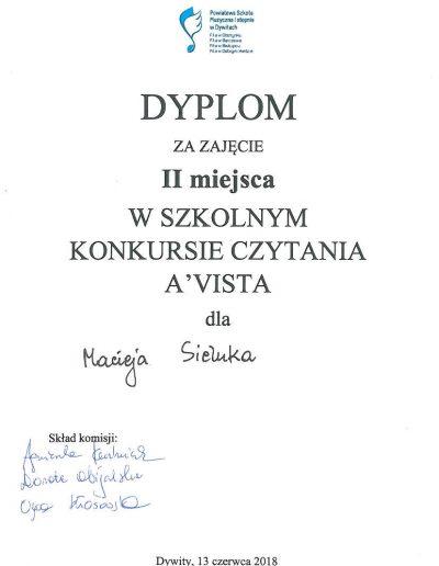 2018 06 13 Maciej Sieluk 100p