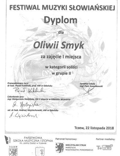 2018 11 22 Oliwia Smyk 100p