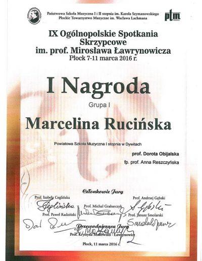 2016 07 11 Marcelina Rucińska