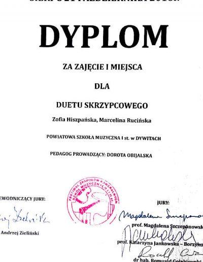 2016 12 21 Zofia Hiszpańska, Marcelina Rucińska