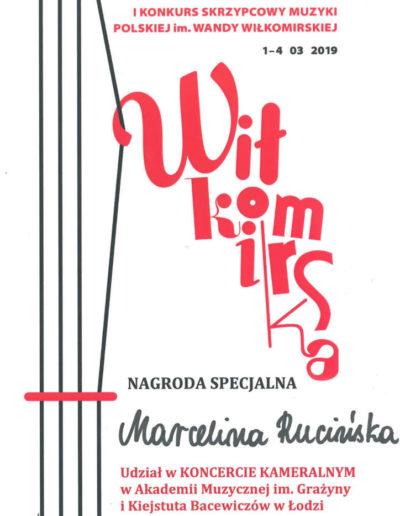 2019 03 01 Marcelina Rucińska 100p