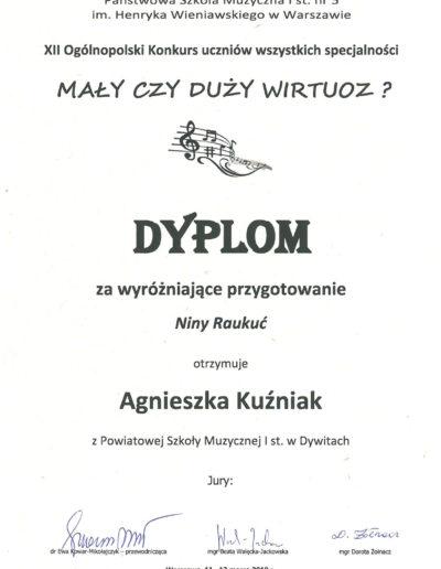 2019 03 11 Agnieszka Kużniak 100p