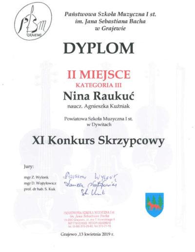 2019 04 13 NIna Raukuć 100p
