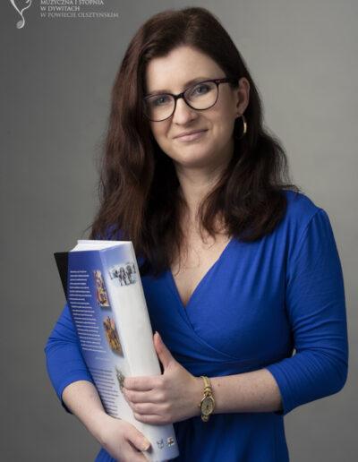 Agnieszka Gębicka  - nauczyciel bibliotekarz