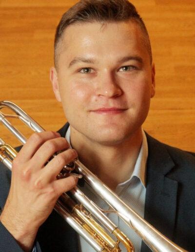 Andrzej Daniel Regiec - trąbka, waltornia