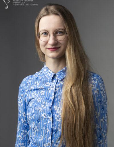 Dorota Mentel - kształcenie słuchu, rytmika
