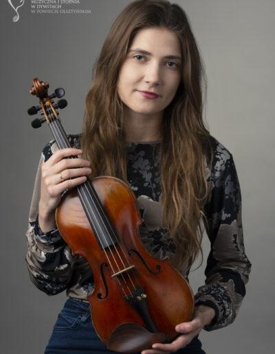 Justyna Światkowska - skrzypce