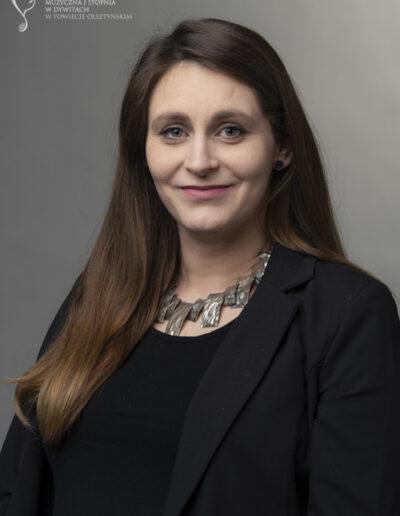 Katarzyna Wiącek - śpiew estradowy (urlop w roku 2021)