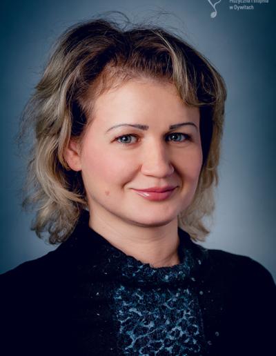 Liudmila Sivaronava – fortepian główny, fortepian dodatkowy, akompaniament