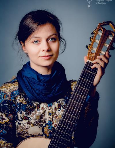 Magdalena Nurczyk - kierownik sekcji gitary