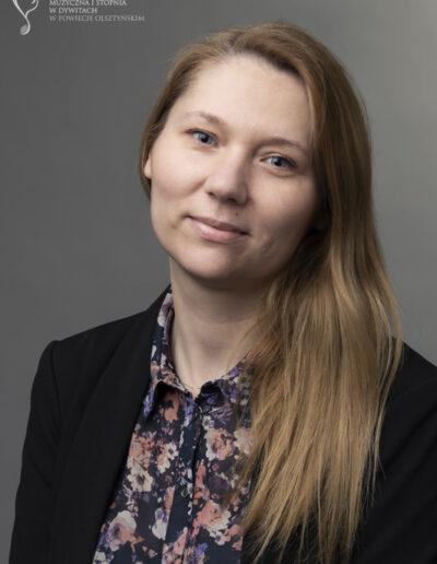 Marta Twardowska - Sekretarka - filia w Biskupcu
