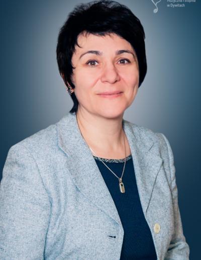 Olena Prodan-Rostkowska – fortepian główny, fortepian dodatkowy, akompaniament
