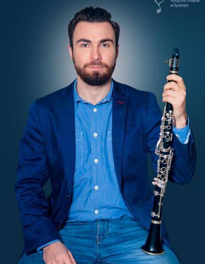 Patryk Błąkała – klarnet
