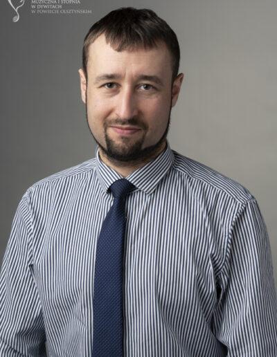 Szymon Górzyński - kształcenie słuchu, rytmika, audycje muzyczne