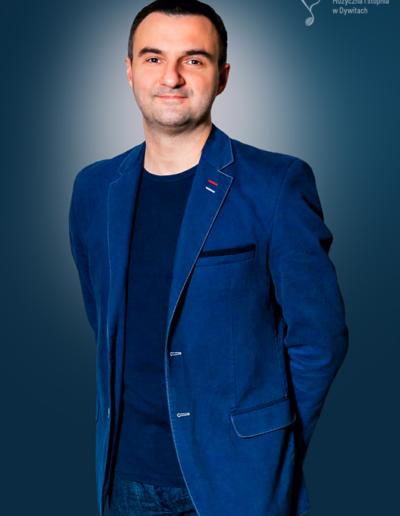 Tomasz Michalak - kierownik sekcji zespołów kameralnych i akordeonu